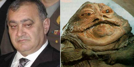 Jabba the Hutt and Andranik Margaryan